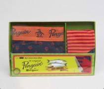 Geschenk-Set mit Slip und Socken Mehrfarbig