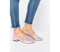 MANTANA Flache Slipper Rosa