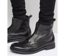 Dokey Stiefel mit Reißverschluss Schwarz