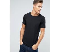 Schwarzes T-Shirt Schwarz