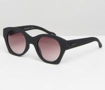 Flash Or Trash Square Frame Sunglasses Schwarz
