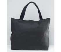 Shopper-Tasche Schwarz