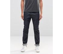 Twister Schmale Jeans aus unbearbeitetem Denim Blau