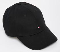 Klassisches Baseball-Cap mit Flagge Schwarz