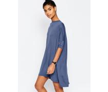 T-Shirt-Kleid Blau