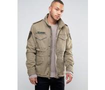 Denim & Supply Ralph Lauren M65 Military-Jacke in Grün Grün