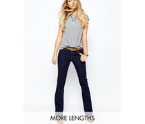 715 Bootcut-Jeans mit normalem Bund Blau