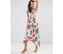Hot Tropics Strandkleid Mehrfarbig