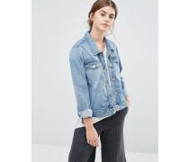 Wayne Jeans-Jacke Blau