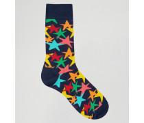 Stars Socken Blau