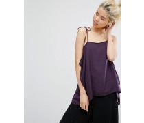 Camisole mit Trägern Violett
