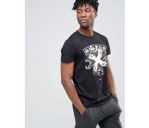 Fang T-Shirt Schwarz