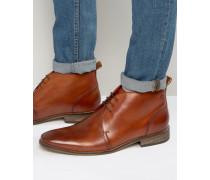 Devon Chukka-Stiefel aus Leder Bronze