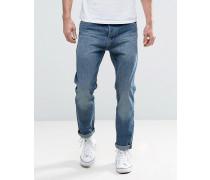 Schmale Jeans Blau