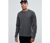 SOLID! Lang geschnittenes Sweatshirt mit Raglanarm Grau