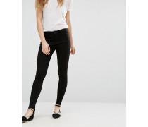 Enge Jeans in Schwarz Schwarz