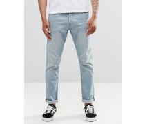 Wednesday Enge Jeans in blauer Waschung Blau