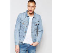Billy Trucker-Jeansjacke Blau