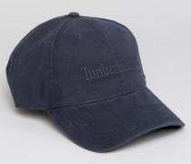 Marineblaue Baseball-Kappe mit Logo Marineblau