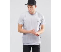 T-Shirt mit Rücken-Print Schwarz