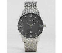 Uhr aus silbernem Edelstahl 1153 Silber