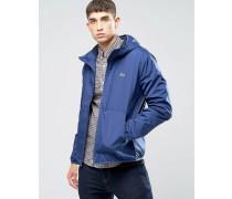 Blaue Jacke mit Kapuze Blau