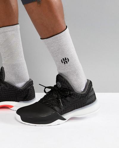 adidas Herren Basketball x Harden Vol 1 - Pioneer - Sneaker in Schwarz AH2116