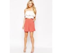 Hosenrock-Shorts Orange