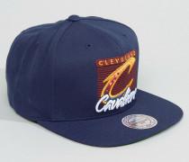 Cleveland Cavaliers Baseballkappe Marineblau