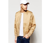 Billy Bomberjacke in Beige Beige