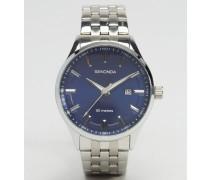 Silberne Armbanduhr Silber