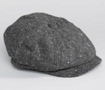 Schiebermütze in Grau Grau