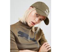 Exklusiv bei ASOS Khakigrüne Kappe mit Logo Grün