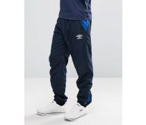 Gewebte Jogginghose mit Bündchen Marineblau