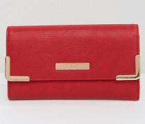 Geldbörse mit Umschlag Rot
