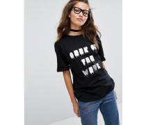 Geek Of The Week T-Shirt Schwarz