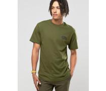 T-Shirt mit Bogen-Logo Grün