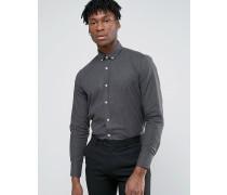 Elegantes Flanell-Hemd Grau