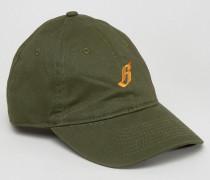 Kappe mit Logo Grün