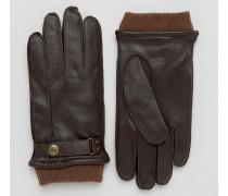 Penrith Braune Lederhandschuhe Braun