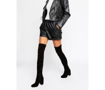 KATCH UP Stretch-Overknee-Stiefel Schwarz