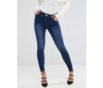 Enge Jeans in Blau Blau