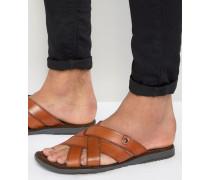 Leather Sandals Bronze