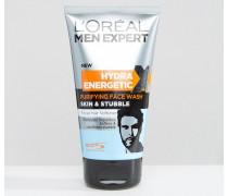 Paris Men Expert Skin & Stubble, Gesichtsreinigung, 150ml Mehrfarbig