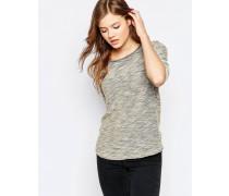 T-Shirt mit 3/4-Ärmeln Beige