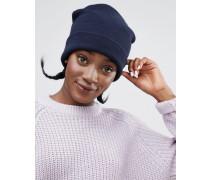 Beanie-Mütze Marineblau
