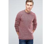 Gering 2-farbiger Pullover Rot