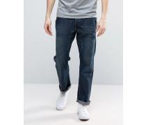 Jeans mit lässiger Passform Blau