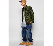 Carhartt WIP Jeans-Latzhose Blau