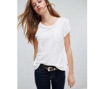 Levi's Perfect T-Shirt mit Tasche Weiß
